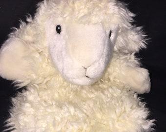 Vintage Lamb Puppet