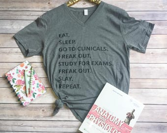 Clinical Shirt, Nursing Student, Xray Student, Med Student