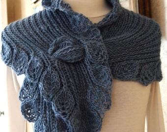 Scarf Knitting Pattern  - Ruffle