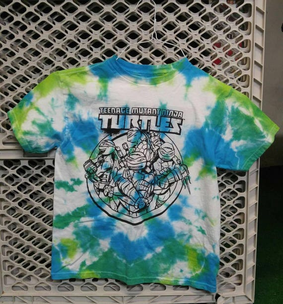 Tmnt shirt tie dye t shirt ninja turtles shirt kids ccuart Image collections