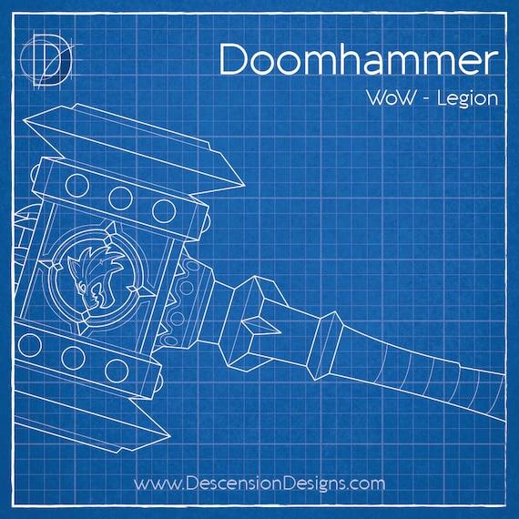 Wow legion doomhammer artifact pattern malvernweather Gallery