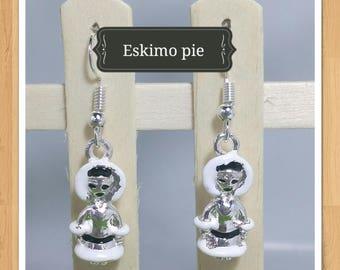 ELVIS ESKIMO EARRINGS