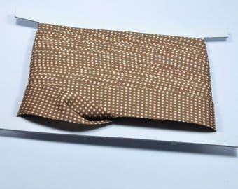 CO142 - Set of 5 meters lined Brown