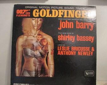 Goldfinger Soundtrack LP