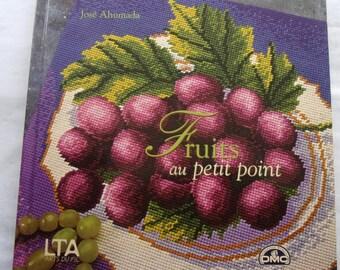 New - PETIT POINT by José AHumada fruit book
