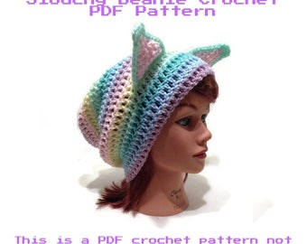 Pastel Cat Pattern, Crochet Cat Pattern, Kawaii Cat, Cat Ear Pattern, Crochet PDF Pattern, Cat, Pastel Cat Pattern, Pattern, Rainbow, Cats