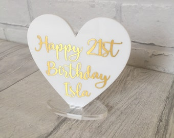 Happy 21st Birthday, Birthday gift, 21st Birthday Card, 21st Birthday Gift