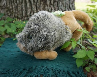 Snark Finklestine. FrankenFuzzie, Soft Sculpture, Stuffed Animal, Toy