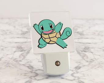 Pokemon Squirtle LED Night Light