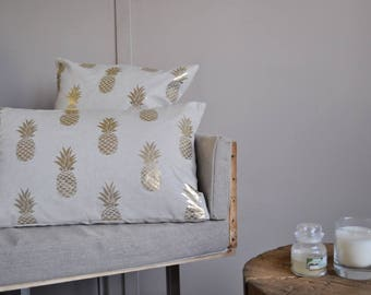 Cushion cover Golden pineapple (rectangle)