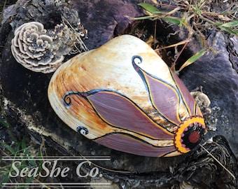 Coast of Maine - Hand Painted Seashells