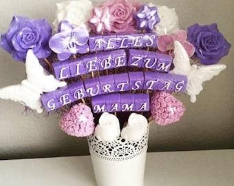Birthday Flowers bouquet of soap/soap bouquet