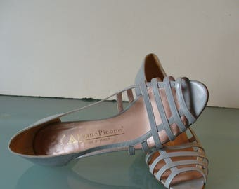 Vintage Made in Italy Evan Picone Strappy Pumps 6M