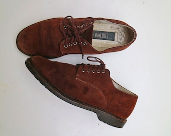 Vintage Country Road Brown Lace up Oxford Shoes // Size 39 - 8AU