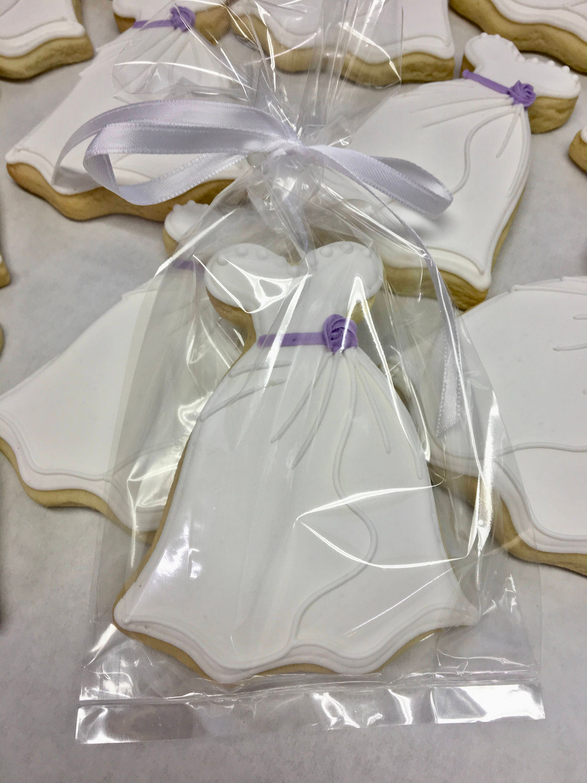 Bridal Shower Cookies Esty Wedding Cookies Wedding Dress