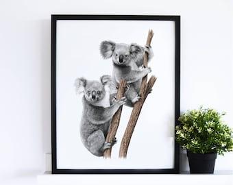 The Koala Mates // White Collection