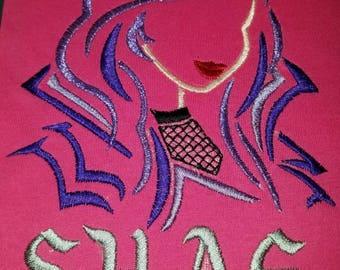 Custom personalized Mal evil student Descendant embroidered shirt