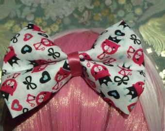 Pink Kitty Bow