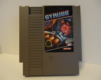 GYRUSS video game for NES Nintendo Entertainment System console VGC vintage - works great - very good condition - Ultra - space shooter game