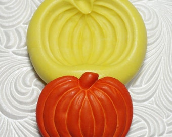PUMPKIN MOLD Silicone Rubber Push Mold for Resin Wax Fondant Polymer Clay Ice 5009