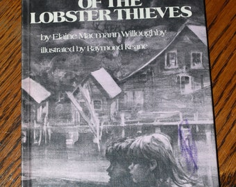Mystery of the Lobster Thieves by Elaine Macmann Willoughby, 1978 hardback edition, Children's Fiction