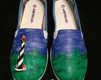 Custom Designed Hand Painted Shoes