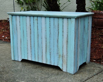 Storage Trunk, Chest, Bedroom Furniture, Hope Chest, Beach House, Blanket Chest, Bedroom Storage, Rustic Furniture, Wood Chest