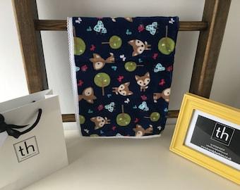 Oh Deer Midnight - Plush Trendy Comfort Blanket