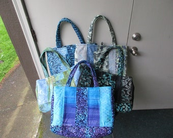 Quilted, Padded Tote Bag