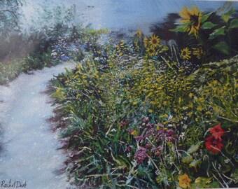 Wildflowers, Hortus Botanicus, limited edition print