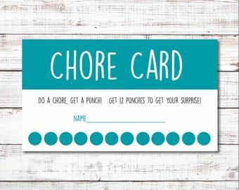 Chore Card