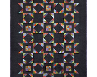 Maywood Woolies Colors Flannel My Missouri Star Quilt Kit 60 x 76 Fabric