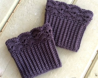 Shelby Boot Cuffs Crochet Pattern pdf