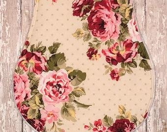Baby Burp Cloth / Baby Shower Gift / Burp Cloth / Baby Gift / Girl Burp Cloth