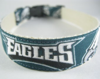 Hemp dog collar - Philadelphia Eagles