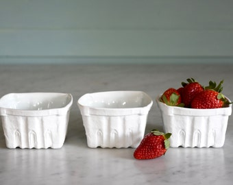 Set of 3 Heritage Edition Berry Baskets