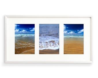 Coastal Wall Art, Set of 3 Prints, Seaside Art, Ocean Print, Seascape, Beach Decor Set, Beach Photography, Surfing Art, Beach Picture