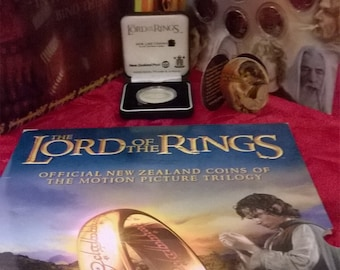 Lord of The Ring Coins  New Zealand Collection Limited edition