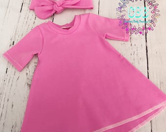Baby girl dress , toddler outfit , baby girl clothes , baby outfit , girl dress , spring dress , summer dress , baby dresses
