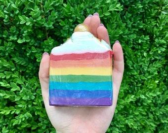 Over The Rainbow - Handmade Soap