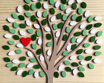 Quadro con albero delle vita