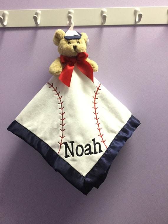 Snuggle Buddy Personalized Baseball