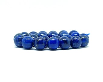 Lapis Lazuli Beads - 4/6/8/10mm - 10 or 100 Beads