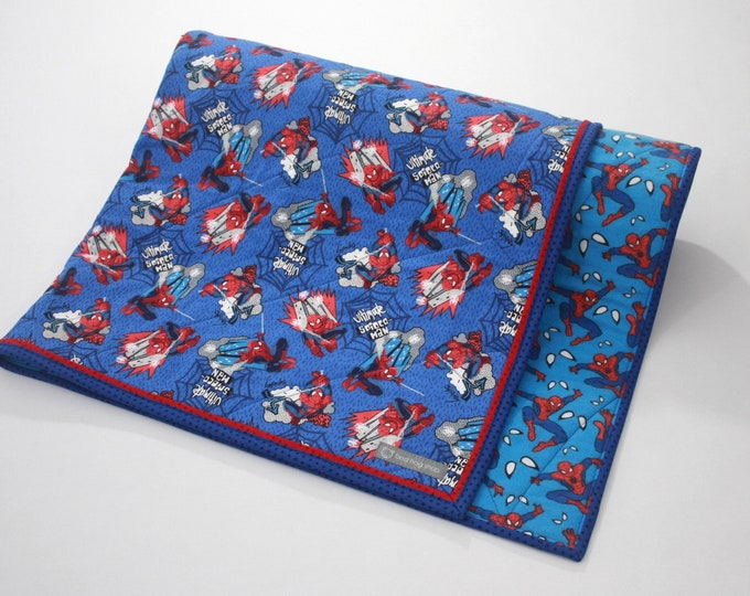 Ultimate Spider-Man Baby Blanket