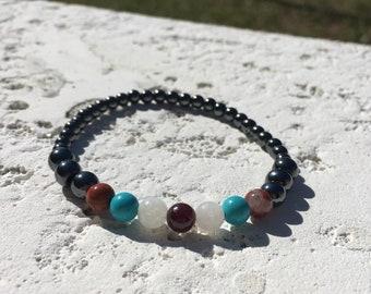 Wild Goddess - Hematite Bracelet