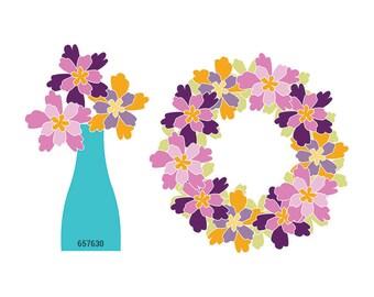 Sizzix Bigz Die - Flower Layers #4 #656781