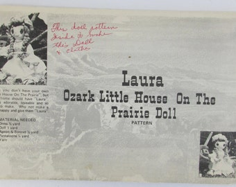 Sewing Pattern uncut Laura Ozark Little House on the Prairie Doll