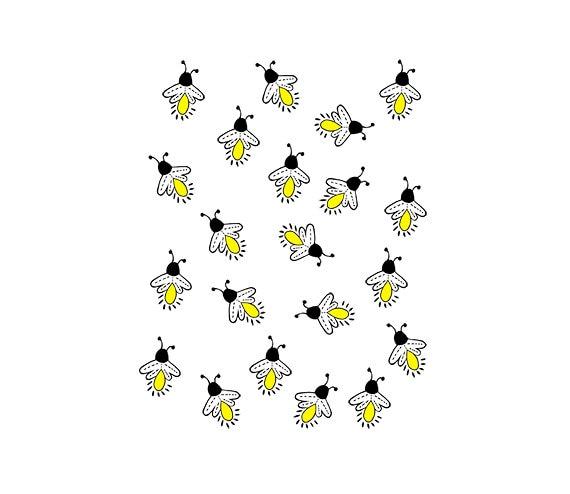 fireflies lightning bugs digital clipart png jpg hand rh etsystudio com