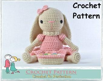 Amigurumi Bunny Pattern Easter Bunny Pattern Crochet Pattern Easter Toy Pattern Amigurumi Bunny Amigurumi Pattern Bunny Amigurumi Animals