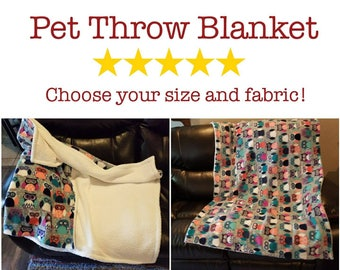 Throw blanket for dogs, cats, and other pets! Couch Protector, Seat Protector